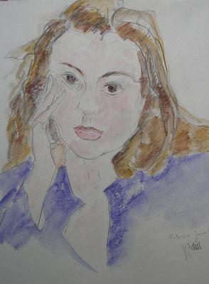 Etude pour un portrait - réf PRT001