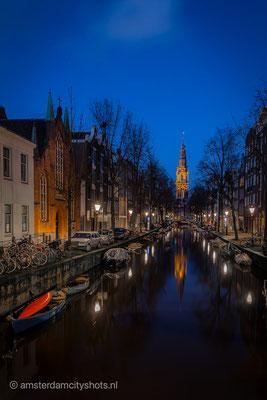 'Zuiderkerk reflection'