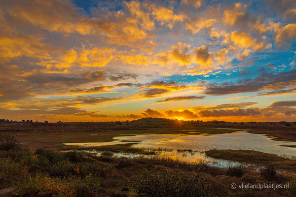 ' Kikkerbult Sunset Vlieland'