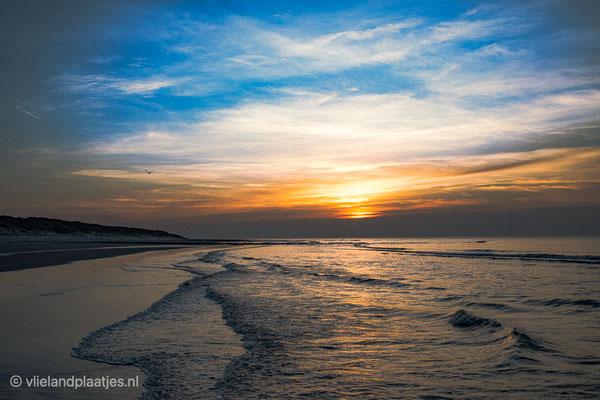Gouden moment Noordzeestrand' 21-2-2021
