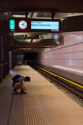 'Waiting for the Metro'