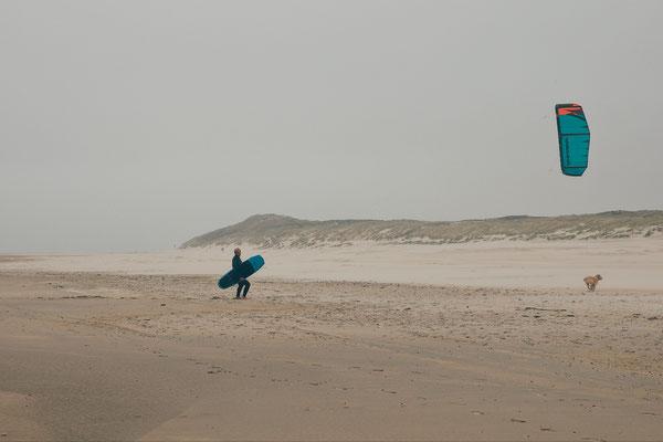 Kitesurfer Vlieland