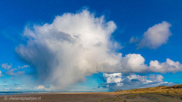 ' Bloemkool boven de Noordzee Vlieland'