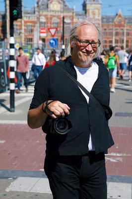 'Theo Niekus 1956-2019' Amsterdam street photographer
