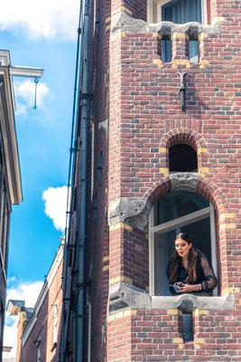' Amsterdam balkon scene '