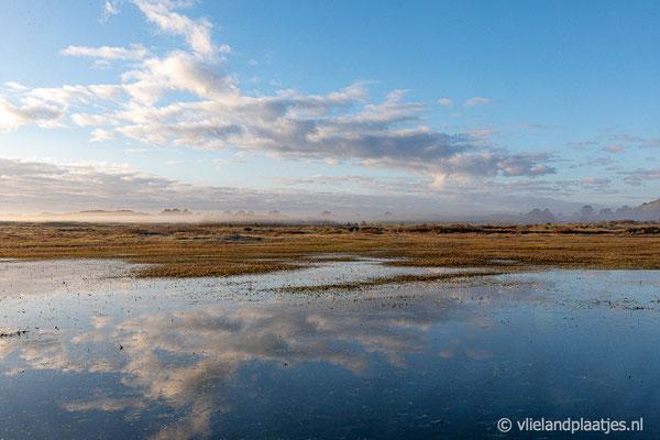 'Mooie Kooisplek spiegel Vlieland'