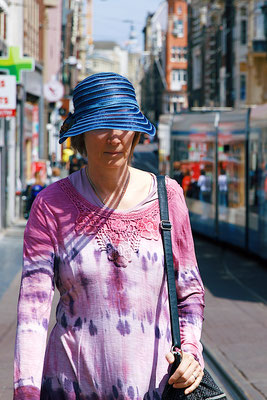 'lady with hat'