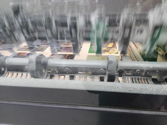 Druckmaschine läuft!