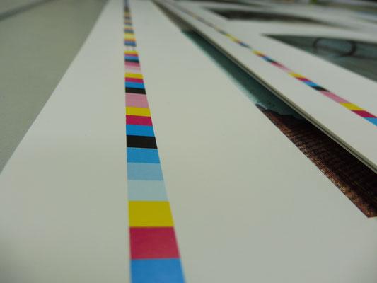 Vier-Farben-Druck