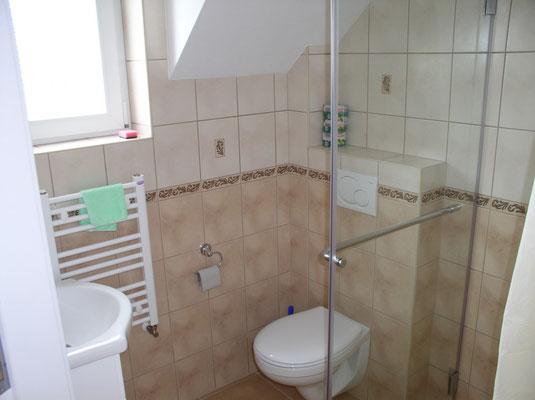 Badezimmer 2 bis 4 Personen Zimmer 1 Etage.
