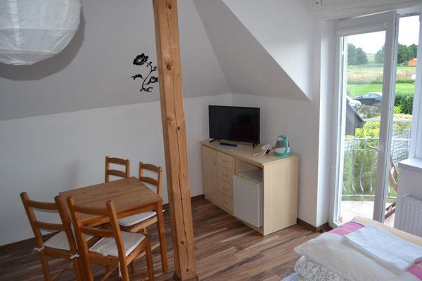 3-4 Personenzimmer mit Balkon