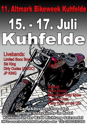 11. Bikeweek Kuhfelde