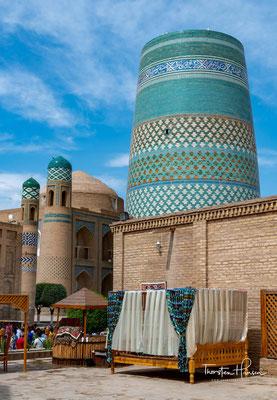 Geplant war eine vollendete Höhe zwischen 70 und 80 Metern. Es sollte das größte Minarett in der islamischen Welt werden. Der Bau wurde 1850 begonnen.