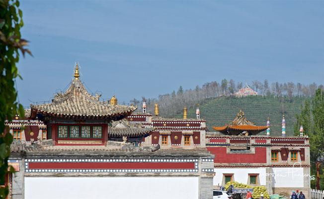 """Kumbum Champa Ling; """"Kloster der Hunderttausend Bilder des Buddha Maitreya"""""""
