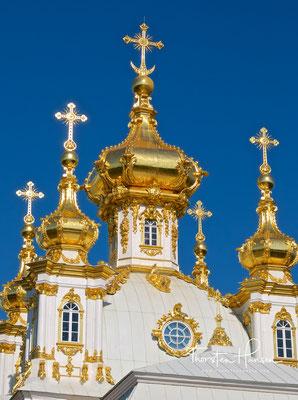 Die Schlosskirche von Peterhof