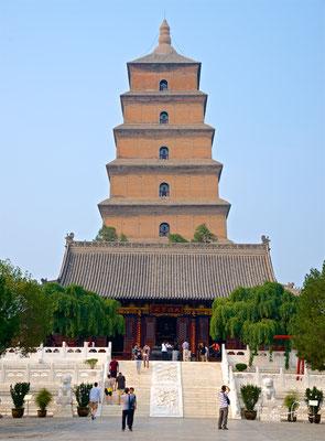Die Große Wildganspagode in Xi'an