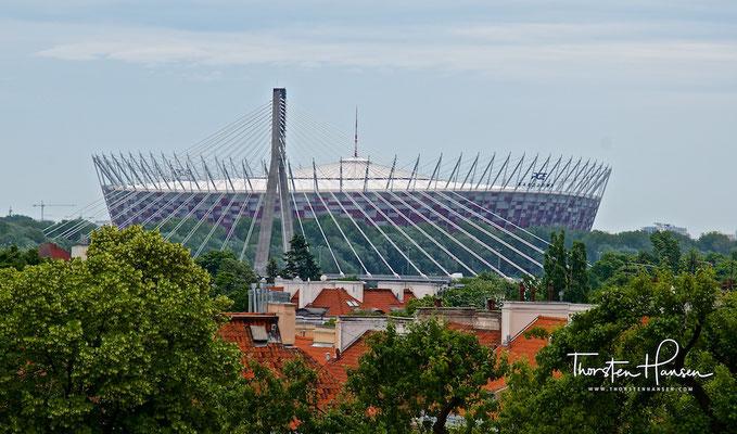 Das Stadion Narodowy in Warschau