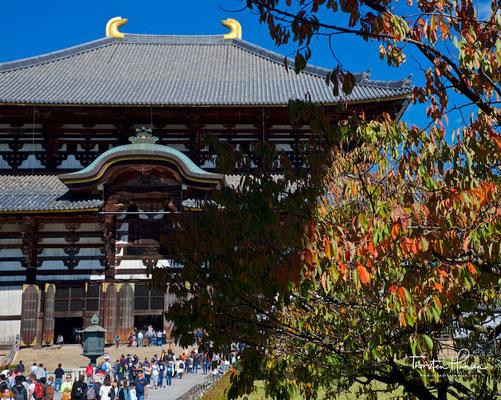 Der Tōdai-ji in Tempel in Nara