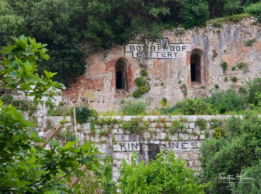 Festungsanlage in Gibraltar
