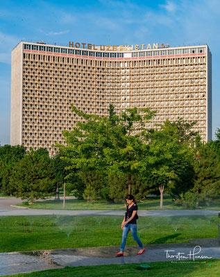das berühmte Hotel Usbekistan in der Hauptstadt Taschkent