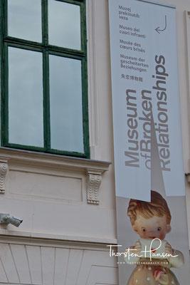 Museum der zerbrochenen Beziehungen in Zagreb