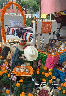 In San Ángel lebten Rivera und Kahlo von 1934 bis 1940