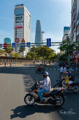 Strassenszenen aus Saigon