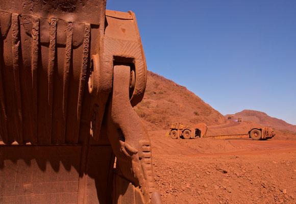 Eisenerzmine in Tom Price
