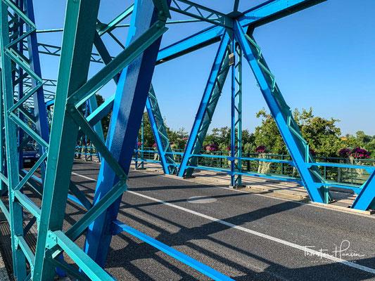 Brücke über dem Fluss Piave in San Donà di Piave