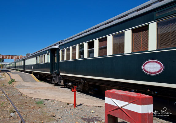 Mit dem African Explorer / Shongololo Train in Otjiwarongo