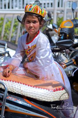 Mädchen in Kashgar