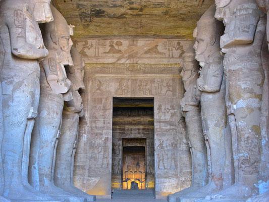 Pfeilerhalle von Abu Simbel