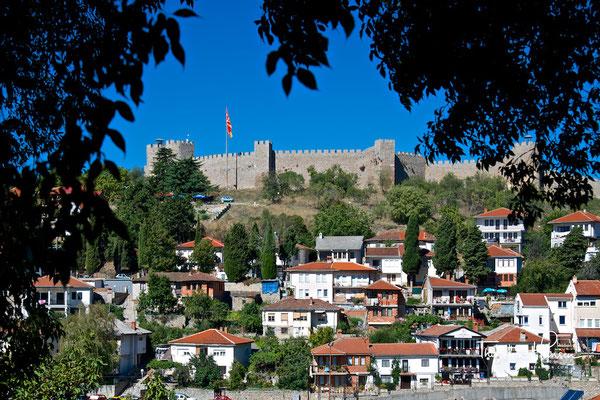 Die Festung des Zaren Samuil in Ohrid
