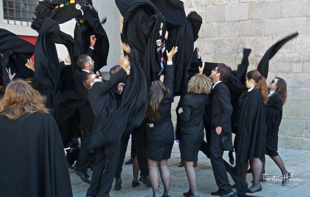 Studenten in Évora