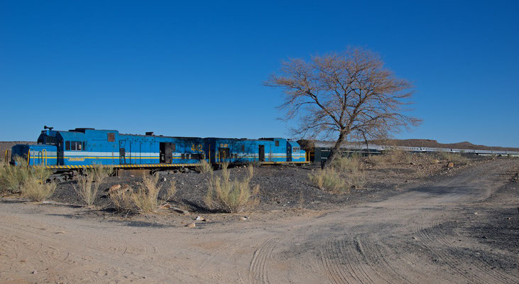 Mit dem African Explorer / Shongololo Train in Holoog