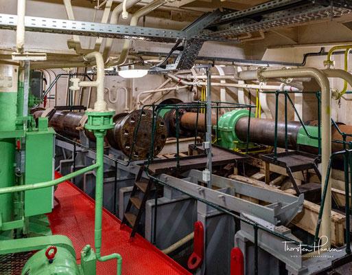 Maschinenraum der SS Rotterdam