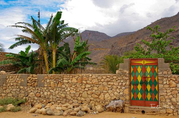 typisches Haus auf der Insel Sokotra