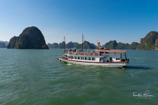 Während des Indochinakriegs und des Vietnamkriegs wurden einige der Inseln....