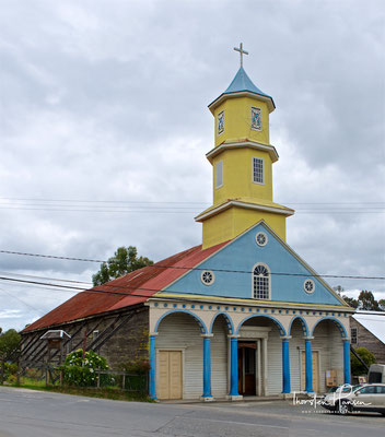 Weltkulturerbe Iglesia San Carlos de Chonchi