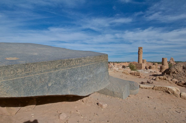 Amun Tempel am Jebel Barkal