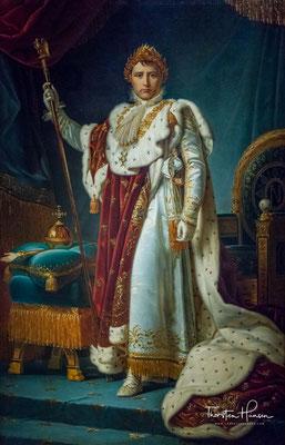 Napoleon I., Napoleon Bonaparte, Kaiser der Franzosen. 1769 - 1821 aus der Werkstatt von François Pascal Simon Gérard.