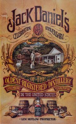 Jack Daniel's ist der Markenname eines Tennessee-Whiskeys aus der Kleinstadt Lynchburg in Tennessee, USA.