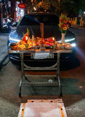 Segensaltar für einen Neuwagen in Hoi An