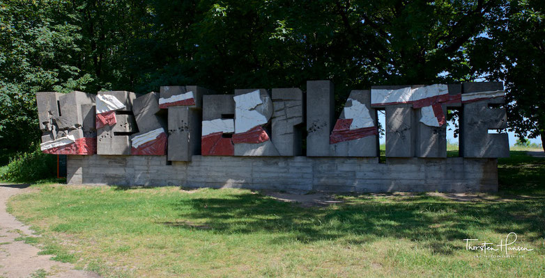 Denkmal auf der Westerplatte