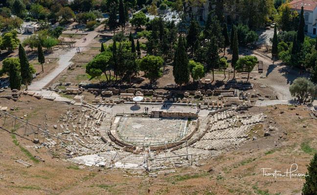 Das Dionysostheater war das wichtigste Theater im antiken Griechenland und gilt als Geburtsstätte des Theaters der griechischen Antike und des Dramas überhaupt.