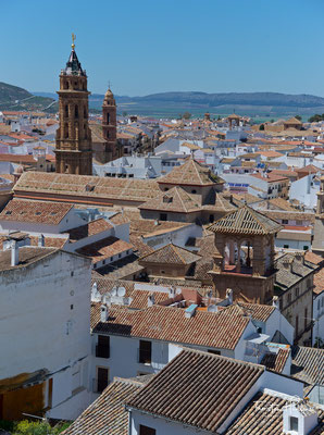 Blick über Antequera