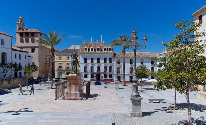 Platz in Antequera
