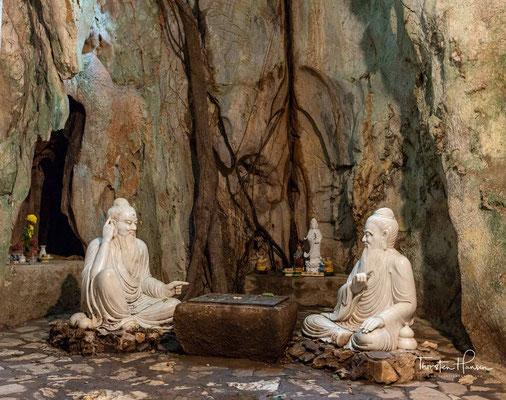 Während des Vietnam Krieges wurde die Höhlen als geheime Krankenhäuser genutzt