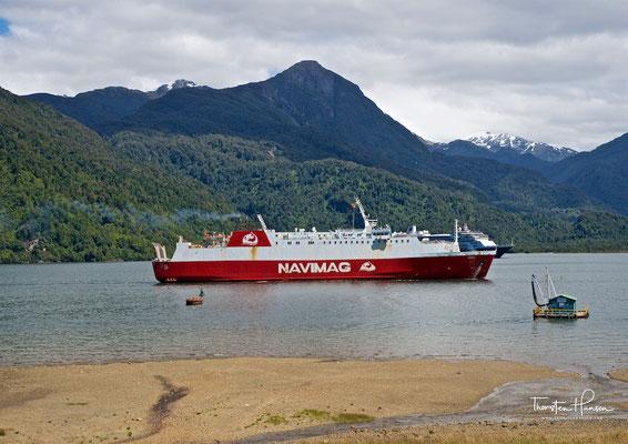 Die Navimag-Fähre - das chilenische Hurtigruten Schiff