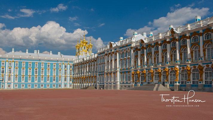 Katharinenpalast oder Zarskoje Selo in St. Petersburg